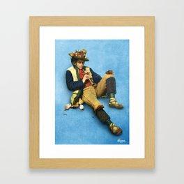 The Piper of Hamelin Framed Art Print