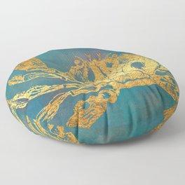 Deep Sea Life Crab Floor Pillow