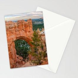 Natural Bridge Panorama at Bryce Canyon National Park Stationery Cards