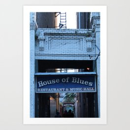 Hall of House of Blues Art Print