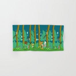 Deep inside the Forest Hand & Bath Towel
