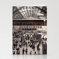 liverpool Stationery Cards featuring Liverpool St. by theGalary
