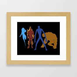 The Fantastic 4 Framed Art Print