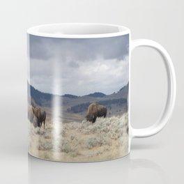 Bison in Yellowstone National Park Coffee Mug