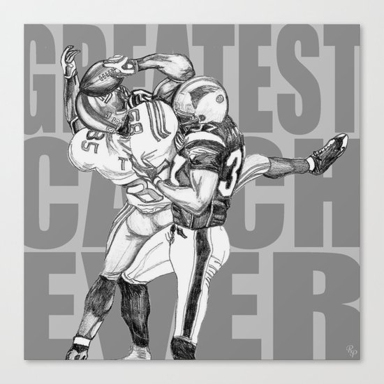GREATEST CATCH EVER Canvas Print