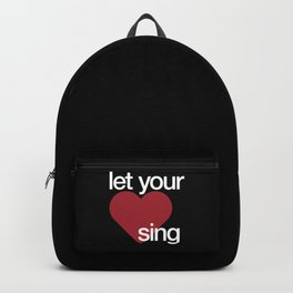 Let Your Heart Sing Backpack