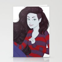 marceline Stationery Cards featuring Marceline by ribkaDory