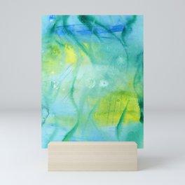 Mermaid´s Grotto Watercolor Mini Art Print