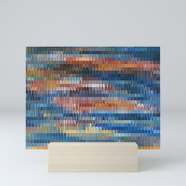 Vertical Drift Mini Art Print