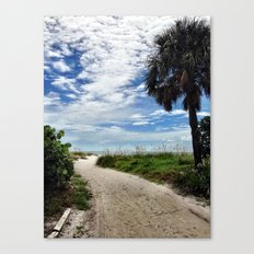 Pathway to the Sun Canvas Print