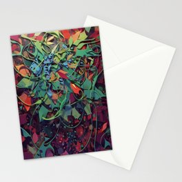 Tendrils- Fantasy Floral  Stationery Cards