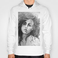 jessica lange Hoodies featuring Jessica by Judy Hung