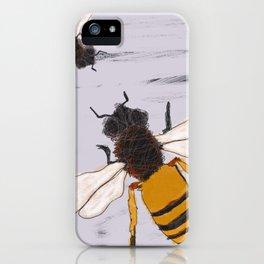 LAVENDER HONEY BEEZ iPhone Case