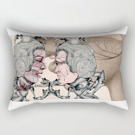 Lovers Rectangular Pillow