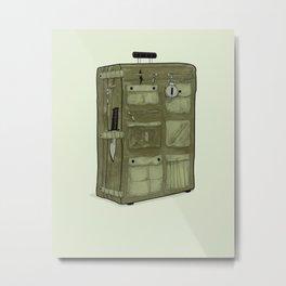 LOST Luggage / John Metal Print