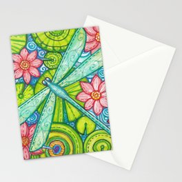 Dragonfly By Stationery Cards