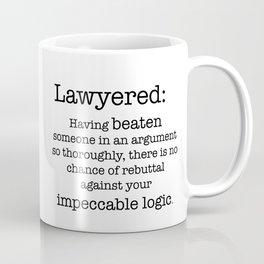 Lawyered Coffee Mug