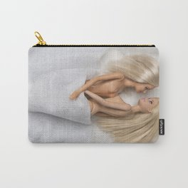 Virgin White Carry-All Pouch