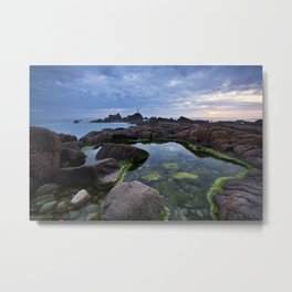 Corbierre Lighthouse, Jersey Metal Print