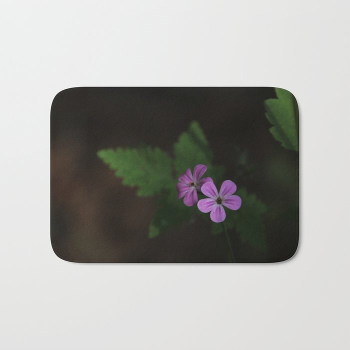 Pretty in Purple Bath Mat