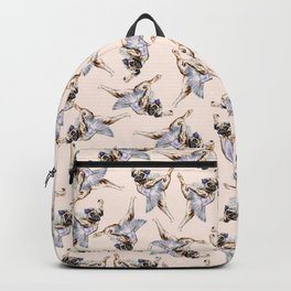 Pug Ballerina in Dog Ballet | Swan Lake  Backpack