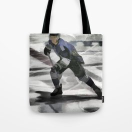 Let's Go! - Ice Hockey Player Tote Bag