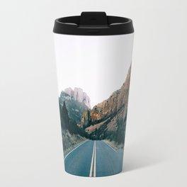 Road Through The Mountains Travel Mug