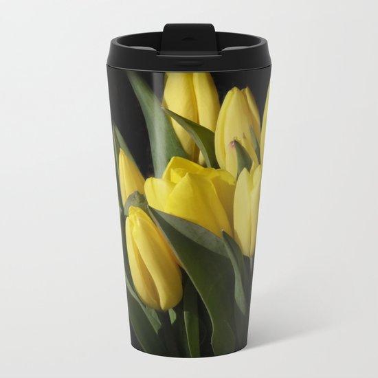 the elegance of spring -3- Metal Travel Mug