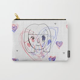 shaken Carry-All Pouch