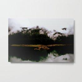 Woken Wild Metal Print