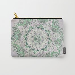 Spring Rain Mandala Carry-All Pouch