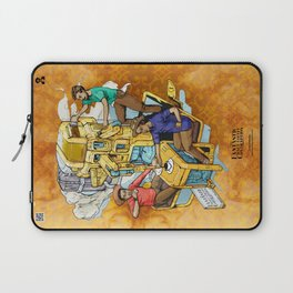 The Fantastic Craft Coffee Contraption Suite - The Fantastic Craft Coffee Contraption Laptop Sleeve