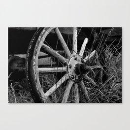 Rock Me Like a Wagon Wheel  Canvas Print