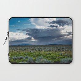 Desert Rain - Summer Thunderstorms Near Taos New Mexico Laptop Sleeve