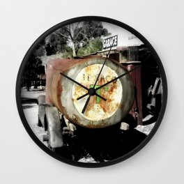 Texaco Wall Clock