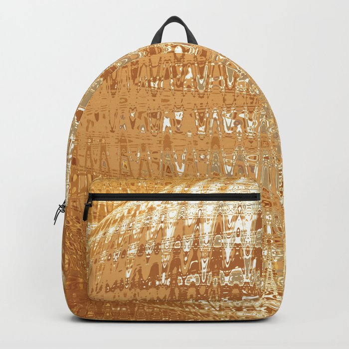 Golden Ball Backpack