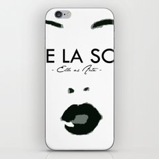 SOL SUPPORT TEE iPhone & iPod Skin