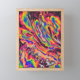 IT WOULD BE INVISIBLE Framed Mini Art Print