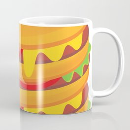 multi-storey hamburger Coffee Mug