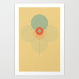 untitled shape 1 Art Print