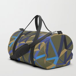 3D Futuristic GEO Lines X 1 Duffle Bag