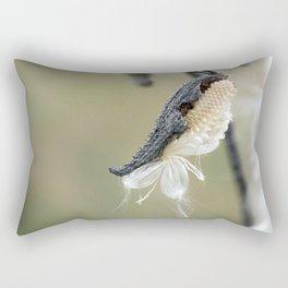 Soft Milkweed Rectangular Pillow