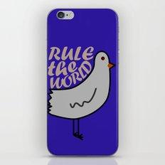 Rule the world iPhone & iPod Skin
