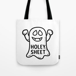 Holey Sheet Scary Fun Halloween Ghost Tote Bag