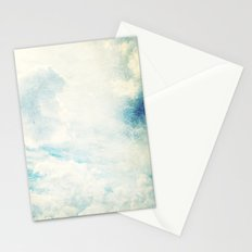 Somewhere | Beautiful Fluffy Clouds  Stationery Cards
