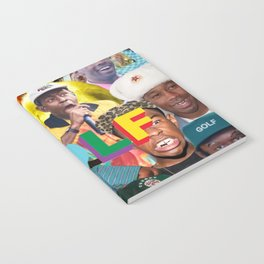 collage tyler the head Notebook