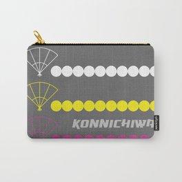 Konnichiwa 3 Carry-All Pouch