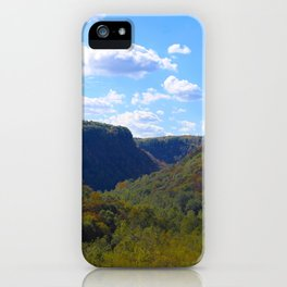 A Perfect Day in Letchworth-Portrait iPhone Case