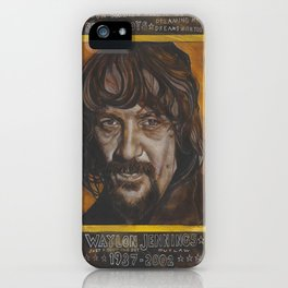 Waylon Jennings iPhone Case