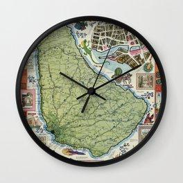 Barbados Wall Clock